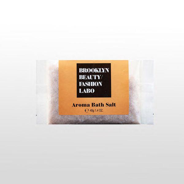ブルックリンビューティーファッションラボのアロマバスソルト オレンジ 40gに関する画像1