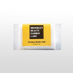 ブルックリンビューティーファッションラボ アロマバスソルト イエロー 40g の画像 0
