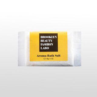 ブルックリンビューティーファッションラボ アロマバスソルト イエロー 40gの画像