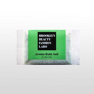 ブルックリンビューティーファッションラボ アロマバスソルト グリーン 40g の画像 0