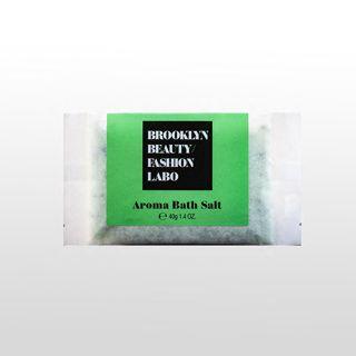 ブルックリンビューティーファッションラボ アロマバスソルト グリーン 40gの画像