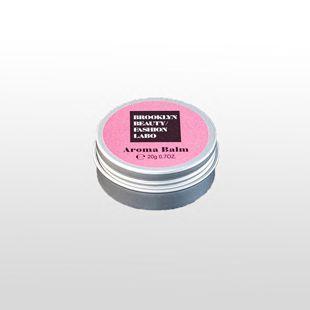 ブルックリンビューティーファッションラボ アロマバーム ピンク 20g の画像 0