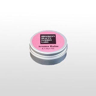 ブルックリンビューティーファッションラボ アロマバーム ピンク 20gの画像