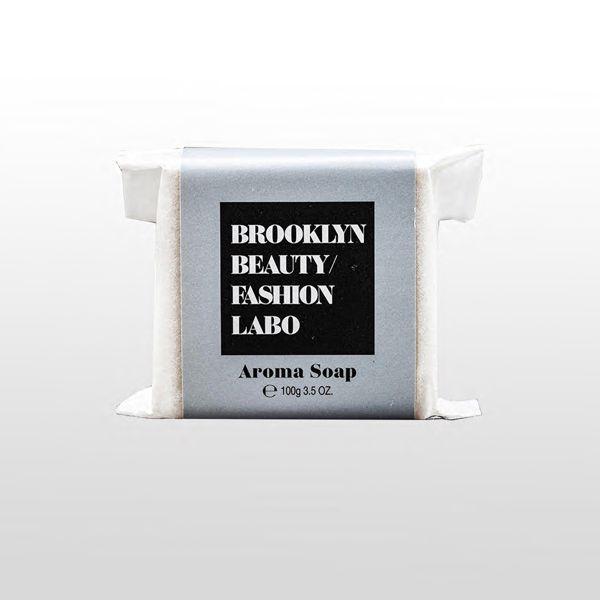 ブルックリンビューティーファッションラボのアロマソープ グレー 100gに関する画像1