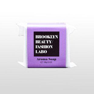 ブルックリンビューティーファッションラボ アロマソープ パープル 100g の画像 0