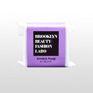 ブルックリンビューティーファッションラボ アロマソープ パープル 100gの画像