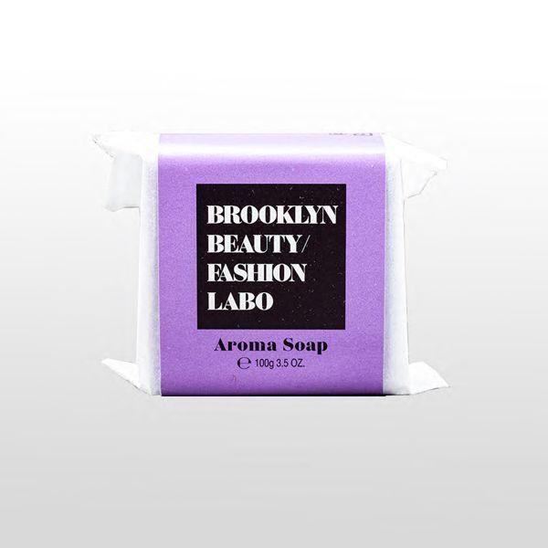 ブルックリンビューティーファッションラボのアロマソープ パープル 100gに関する画像1