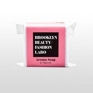 ブルックリンビューティーファッションラボ アロマソープ ピンク 100g の画像 0