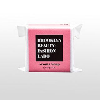 ブルックリンビューティーファッションラボ アロマソープ ピンク 100gの画像