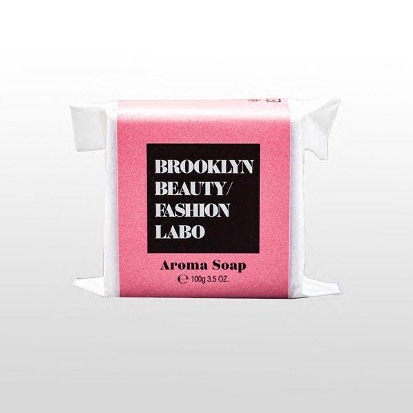 ブルックリンビューティーファッションラボのアロマソープ ピンク 100gに関する画像1