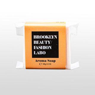 ブルックリンビューティーファッションラボ アロマソープ オレンジ 100gの画像