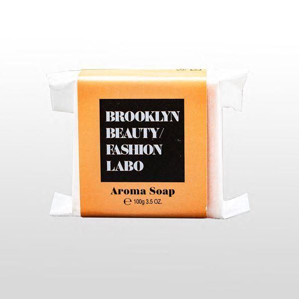 ブルックリンビューティーファッションラボのアロマソープ オレンジ 100gに関する画像1