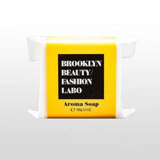 ブルックリンビューティーファッションラボ アロマソープ イエロー 100gの画像