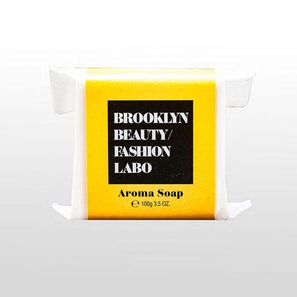 ブルックリンビューティーファッションラボのアロマソープ イエロー 100gに関する画像1