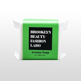 ブルックリンビューティーファッションラボ アロマソープ グリーン 100gの画像