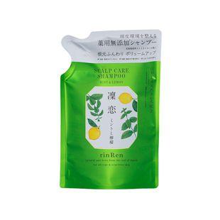 リンレン レメディアル シャンプー ミント&レモン <医薬部外品> 【詰め替え】 300ml の画像 0
