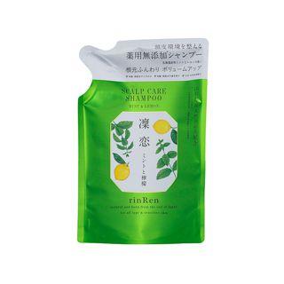 リンレン レメディアル シャンプー ミント&レモン <医薬部外品> 【詰め替え】 300mlの画像