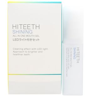 HITEETH オールインワンマウスジェルシャイニング LEDライト付き 35ml の画像 0