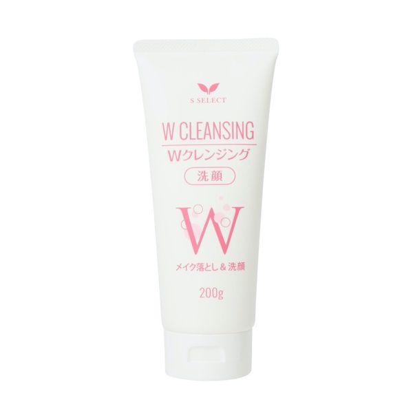 エスセレクトのWクレンジング洗顔 200gに関する画像1