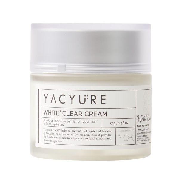 YACYUREのホワイトクリアクリーム 【医薬部外品】 50gに関する画像1