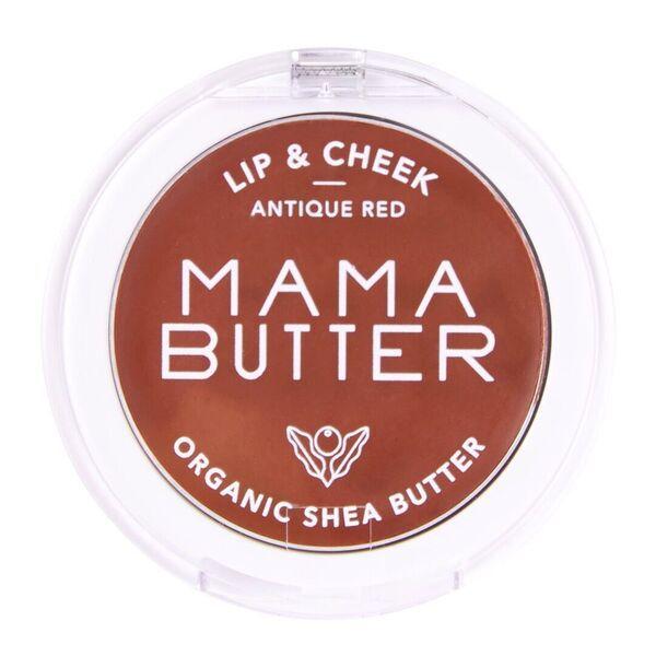 ママバターのリップ&チーク アンティークレッド 3gに関する画像1