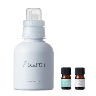Fuuai 自分だけの香りを手づくりできる柔軟剤 Yasuragi×Green 400ml/4ml の画像 0