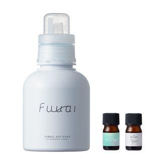 Fuuai 自分だけの香りを手づくりできる柔軟剤 Yasuragi×Green 400ml/4mlの画像