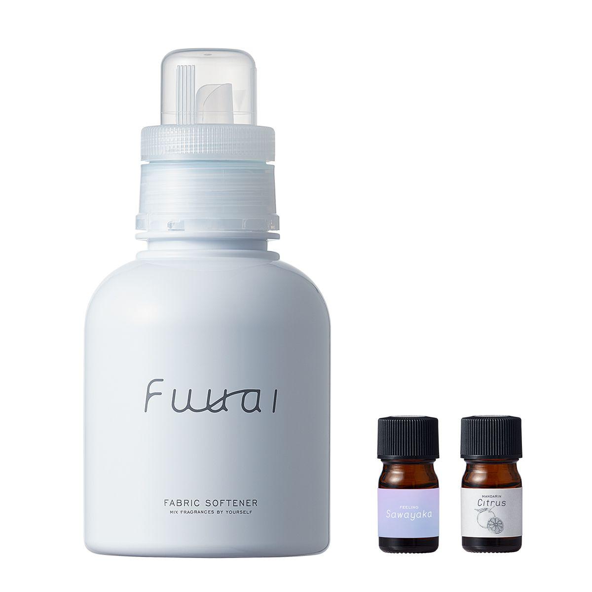 Fuuaiの自分だけの香りを手づくりできる柔軟剤 Sawayaka×Citrus 400ml/4mlに関する画像 1