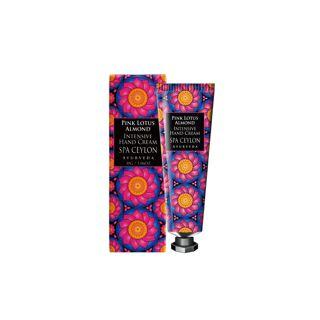 スパセイロン ピンク ロータス アーモンド インテンシブ ハンド クリーム 30gの画像