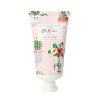 キャス・キッドソン ハンドクリーム マンダリン&ピオニーの香り プラントポット 50mlの画像