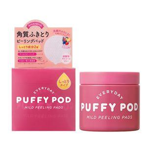 パフィーポッド マイルドピーリングパッド M フルーティーミックスの香り 数量限定 60枚入り の画像 0