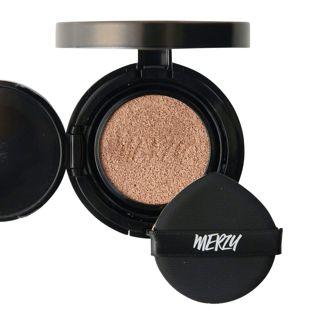 MERZY ザ ファースト クッション カバー セット  CO2 ベージュ リフィル付き 13g SPF50+ PA+++ の画像 0