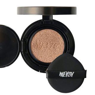 MERZY ザ ファースト クッション カバー セット  CO2 ベージュ リフィル付き 13g SPF50+ PA+++の画像
