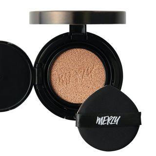 MERZY ザ ファースト クッション グロウ セット GL1 ポーセリン リフィル付き 13g SPF50+ PA+++の画像