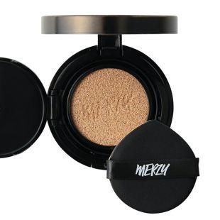MERZY ザ ファースト クッション グロウ セット GL2 ベージュ リフィル付き 13g SPF50+ PA+++ の画像 0