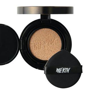 MERZY ザ ファースト クッション グロウ セット GL2 ベージュ リフィル付き 13g SPF50+ PA+++の画像