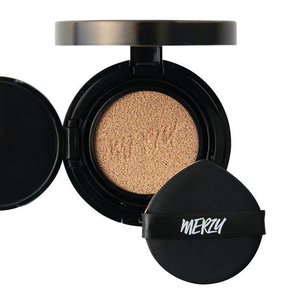 MERZYのザ ファースト クッション グロウ セット GL2 ベージュ リフィル付き 13g SPF50+ PA+++に関する画像1