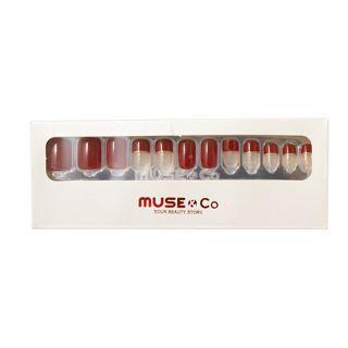 ミューゼンコ ミューゼンコ ネイルチップ NF0013 Wine glass 46.6gの画像
