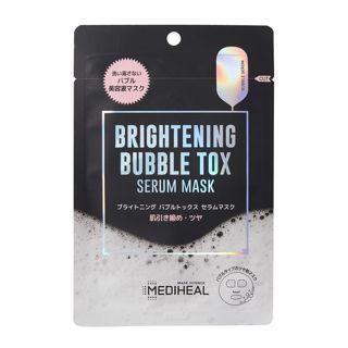 メディヒール ブライトニング バブルトックス セラムマスク 21ml×1枚の画像