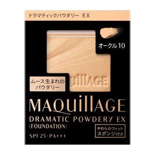 マキアージュ ドラマティックパウダリー EX オークル10 やや明るめ 9.3g【レフィル】 SPF25 PA+++の画像
