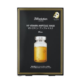 JMsolution V9 ビタミン アンプルマスク クリア 5枚入 の画像 0