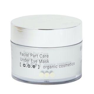a.o.e organic cosmetics アンダーアイマスク ブライトニング 60pcsの画像
