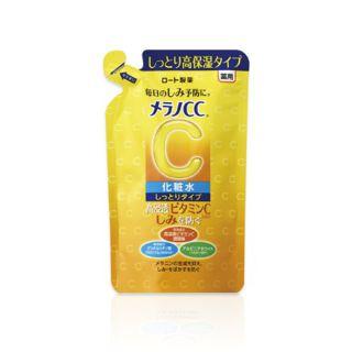 メラノCC 薬用しみ対策 美白化粧水 しっとりタイプ 【つめかえ用】<医薬部外品> 170mlの画像