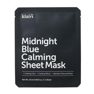 klairs ミッドナイトブルーカーミングシートマスク 25ml の画像 0