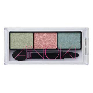 アイノキ グロウエアリー フィットアイズ MU-1 グリーン系× ピンク系マルチカラー 3.1gの画像