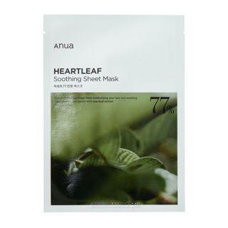ANUA ドクダミ77%スージングマスク 1枚の画像