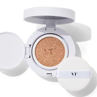VT cosmetics ホワイトグロウCCクッション 21 アイボリー 12g SPF50+ PA+++の画像