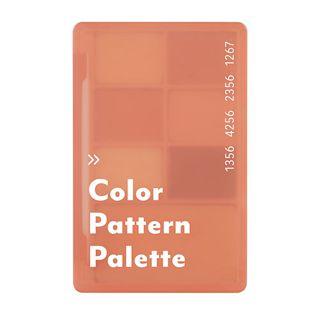 アイムミミ カラーパターンパレット 001 コーラルパターン 55gの画像