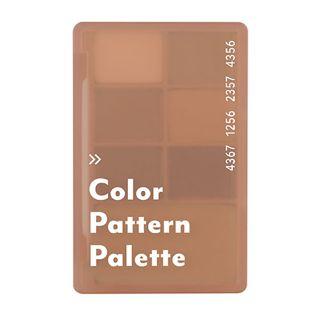 アイムミミ カラーパターンパレット 003  サンドパターン 55gの画像