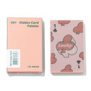 アイムミミ アイムヒドゥンカードパレット 001 ラッキーカード 8gの画像